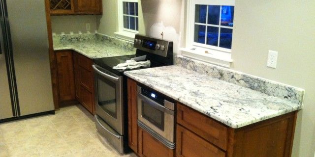 Aspen White Granite Countertop Kitchen